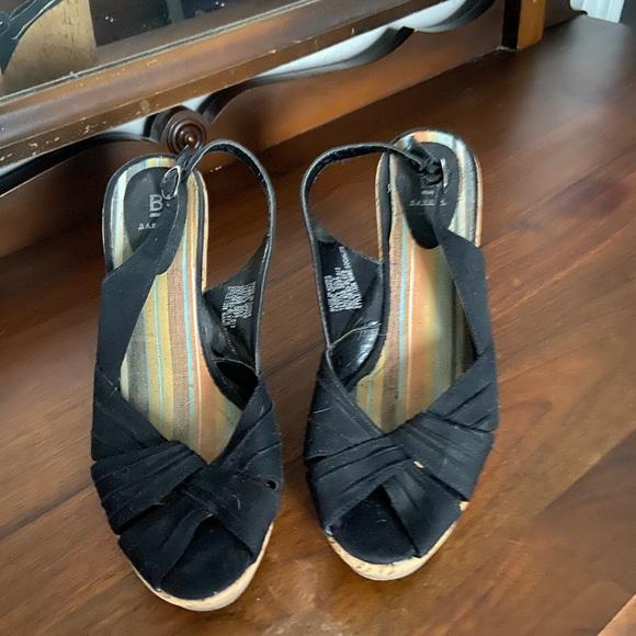 Size 8.5 Baker wedge sandal